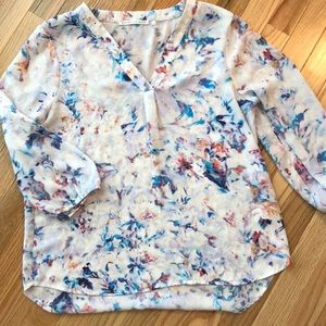 Multi Colored Lightweight Blouse